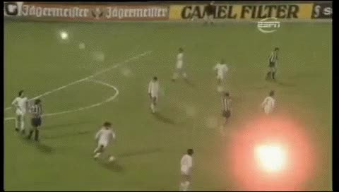 Watch and share Uli Hoeness. Bayern Munich - Atletico Madrid. 1973-74 GIFs by fatalali on Gfycat