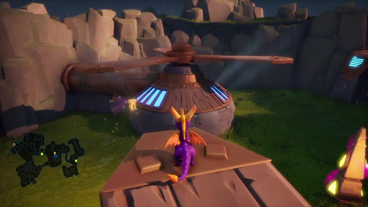 Spyro Reignited Trilogy, Spyro saltando GIFs