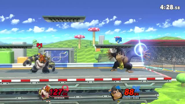 Watch and share Bowser FootStool DK GIFs by bassman130 on Gfycat