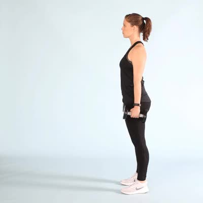 Watch 400x400-Lunges with Dumbbell GIF by Healthline (@healthline) on Gfycat. Discover more related GIFs on Gfycat