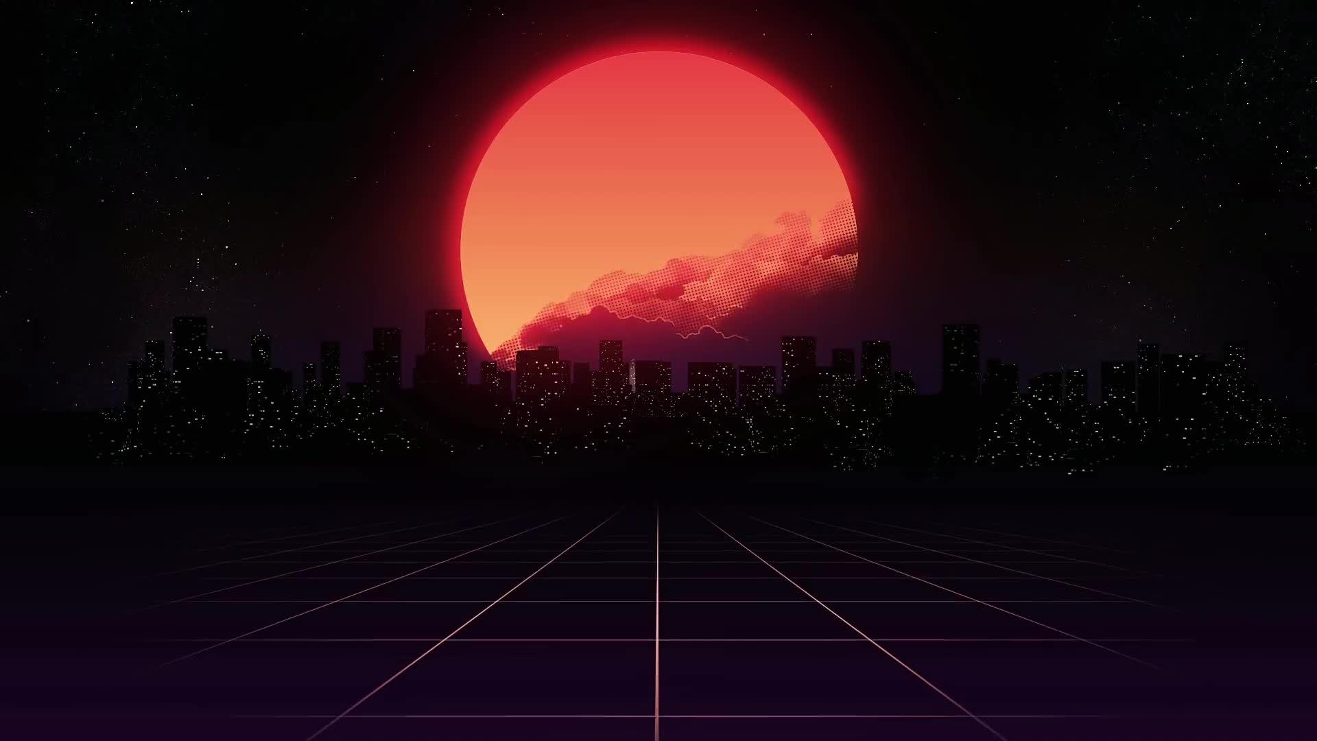 N I G H T D R I V E A Synthwave Music Video Mix Chillwave Retrowave