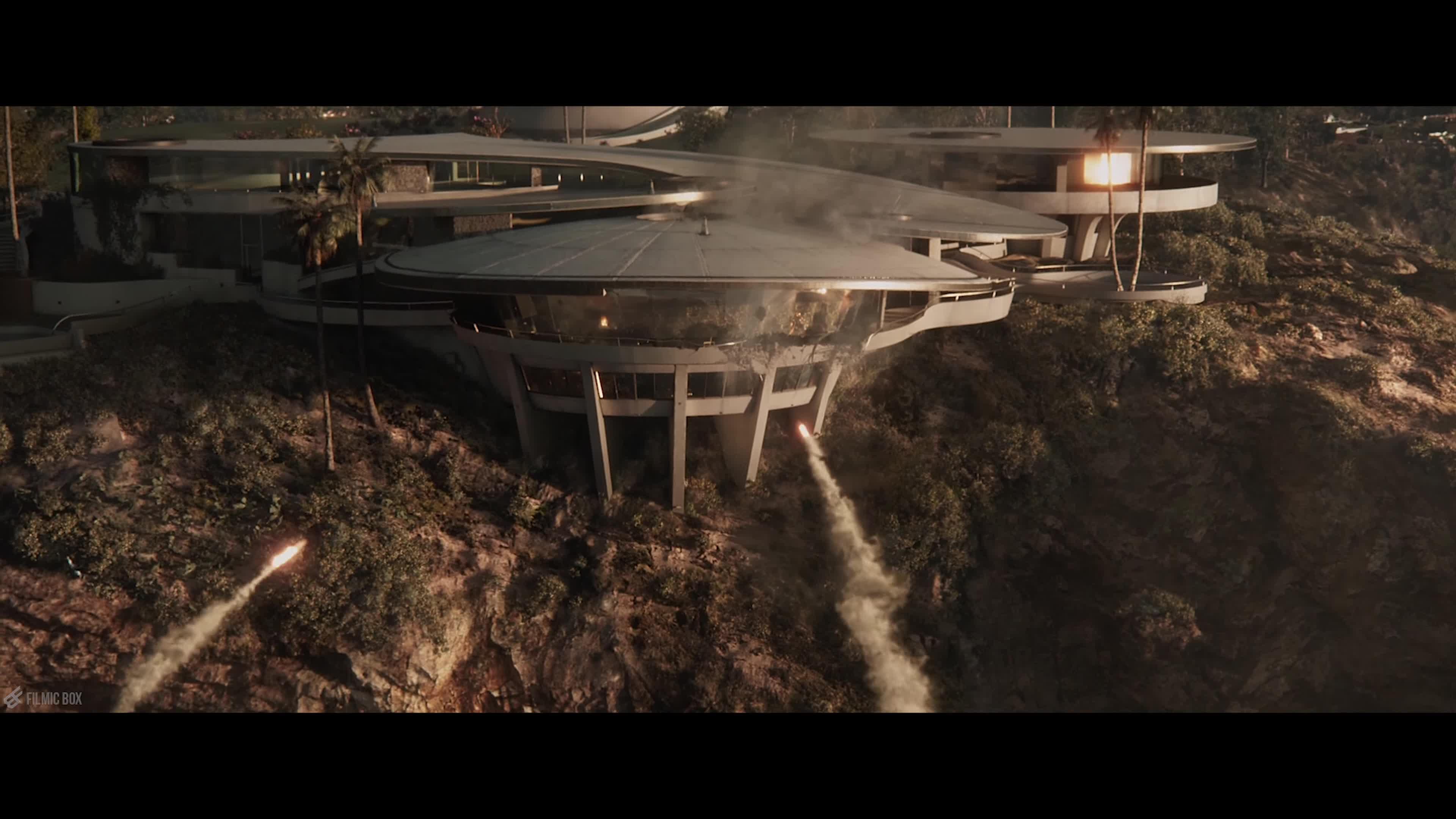 Malibu Mansion Attack Iron Man 3 2013 Movie Clip