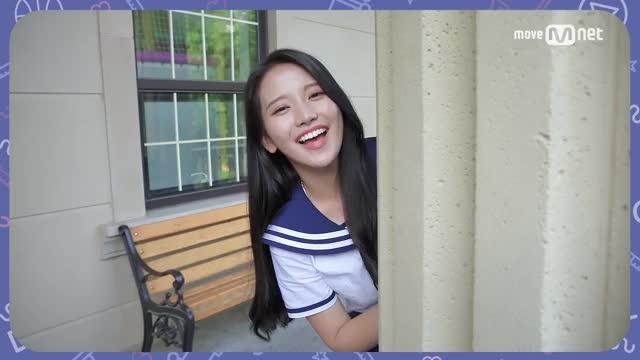 Watch and share Idol School [미소캠] 스노우 베이비 @ 나도 모르게 미소캠 Part.2 170701 EP.0 GIFs by cactussy on Gfycat