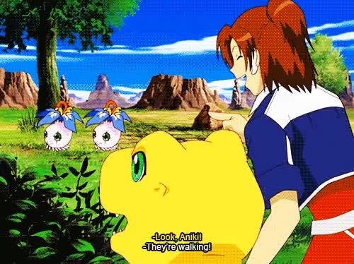 Watch and share Digimon Savers GIFs and Agumon Savers GIFs on Gfycat