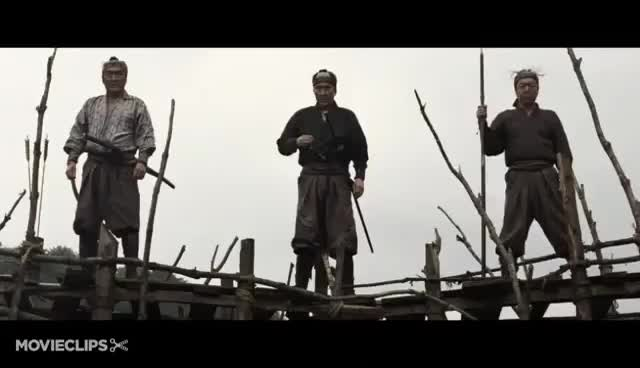 Watch and share 13 Assassins (7/11) Movie CLIP - Total Massacre (2010) HD GIFs on Gfycat