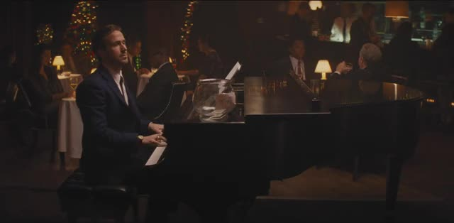 Watch Happy piano playing - Ryan Gosling GIF by La La Land (@lalaland) on Gfycat. Discover more lalaland, lionsgate, movies GIFs on Gfycat