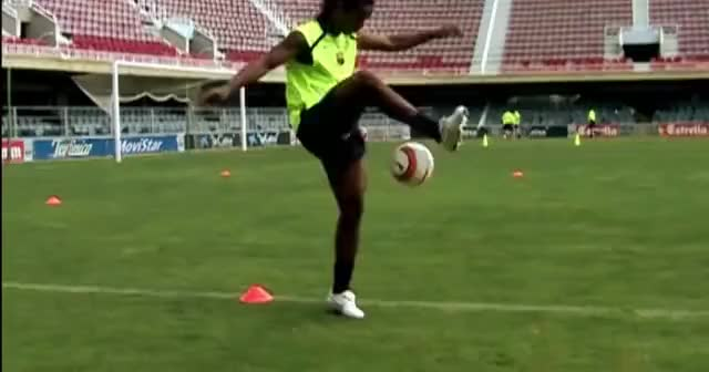 Watch and share Nike Football Presents: Ronaldinho Crossbar Remastered GIFs on Gfycat