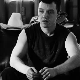 Watch and share Mickey Milkovich GIFs and Carl Gallagher GIFs on Gfycat