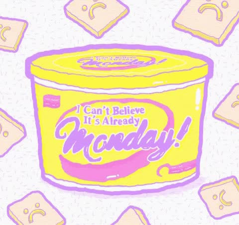 Watch and share Days Of The Week GIFs and Back To Work GIFs by Reactions on Gfycat