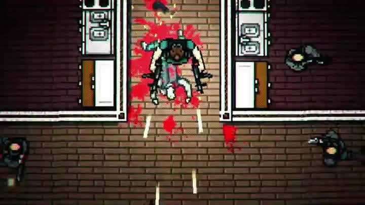 Hotline Miami 2: Wrong Number - Dial Tone Trailer GIFs