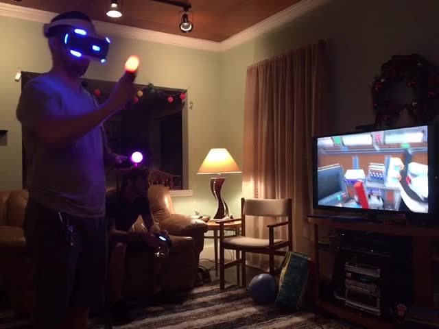 Watch and share My Brother On PSVR GIFs on Gfycat