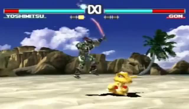 Watch Yoshimitsu vs Gon KO GIF on Gfycat. Discover more gon, seppuku, tekken, yoshimitsu GIFs on Gfycat