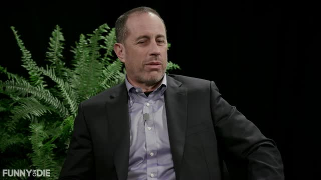 celebrity, celebs, jerry seinfeld, Between Two Ferns With Zach Galifianakis: Jerry Seinfeld & Cardi B GIF from Funny or Die - https://funnyordie.com/videos/42eb8ac230 GIFs