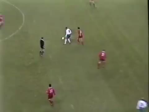 Watch and share STOICHKOV - Bulgaria V Wales, 1994 GIFs on Gfycat