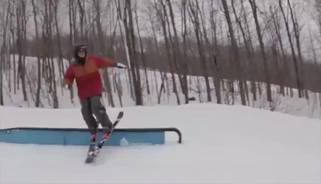 Watch and share Ski Butter Freeski GIFs on Gfycat