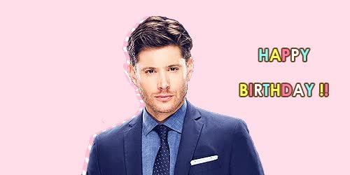 Watch Happy 38th Birthday Jensen Ross Ackles (  March 1, 1978  ) GIF on Gfycat. Discover more jensen ackles GIFs on Gfycat