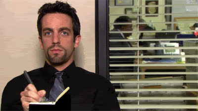 b. j. novak, bj novak, the office, work, writing, xwidth blog uloop com uloop content uploads noted ryan the office GIFs