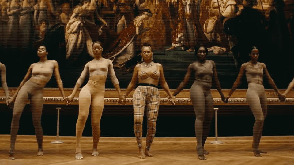album, apes***t, beyonce, carters, collaboration, couple, dance, dancing, exhibition, girls, hips, hump, jay, louvre, museum, new, paris, sexy, together, z, Apes***t - The Carters GIFs