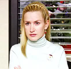 Watch and share Angela Kinsey GIFs and Angela Martin GIFs on Gfycat