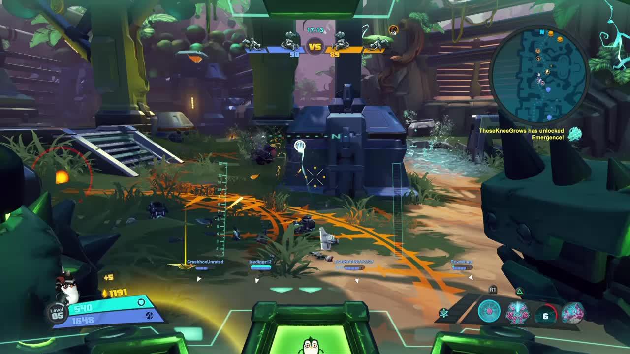 Battleborn, Battleborn - Booster stun #1 GIFs
