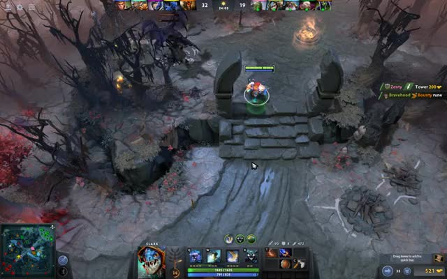Watch and share Support Slark GIFs by bravehood on Gfycat