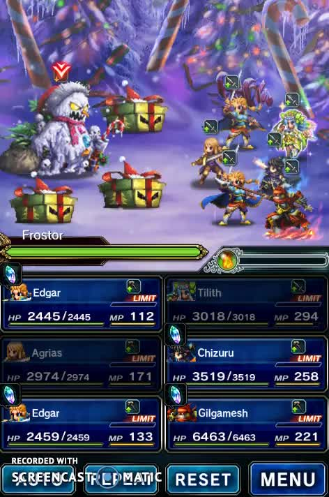 Watch and share Ffbe Frost Chain GIFs by revenge on Gfycat