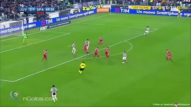 Watch and share (www.nGolos.com) Juventus 4-1 Spal - Cuadrado 70' GIFs on Gfycat