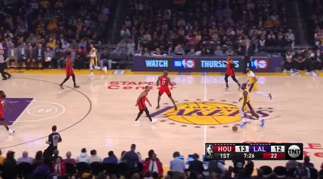 Watch and share Los Angeles Lakers GIFs and Houston Rockets GIFs by prejuce on Gfycat