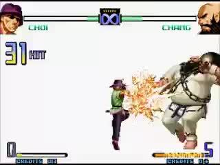 COMBO CHOI KOF 2002 99% GIFs