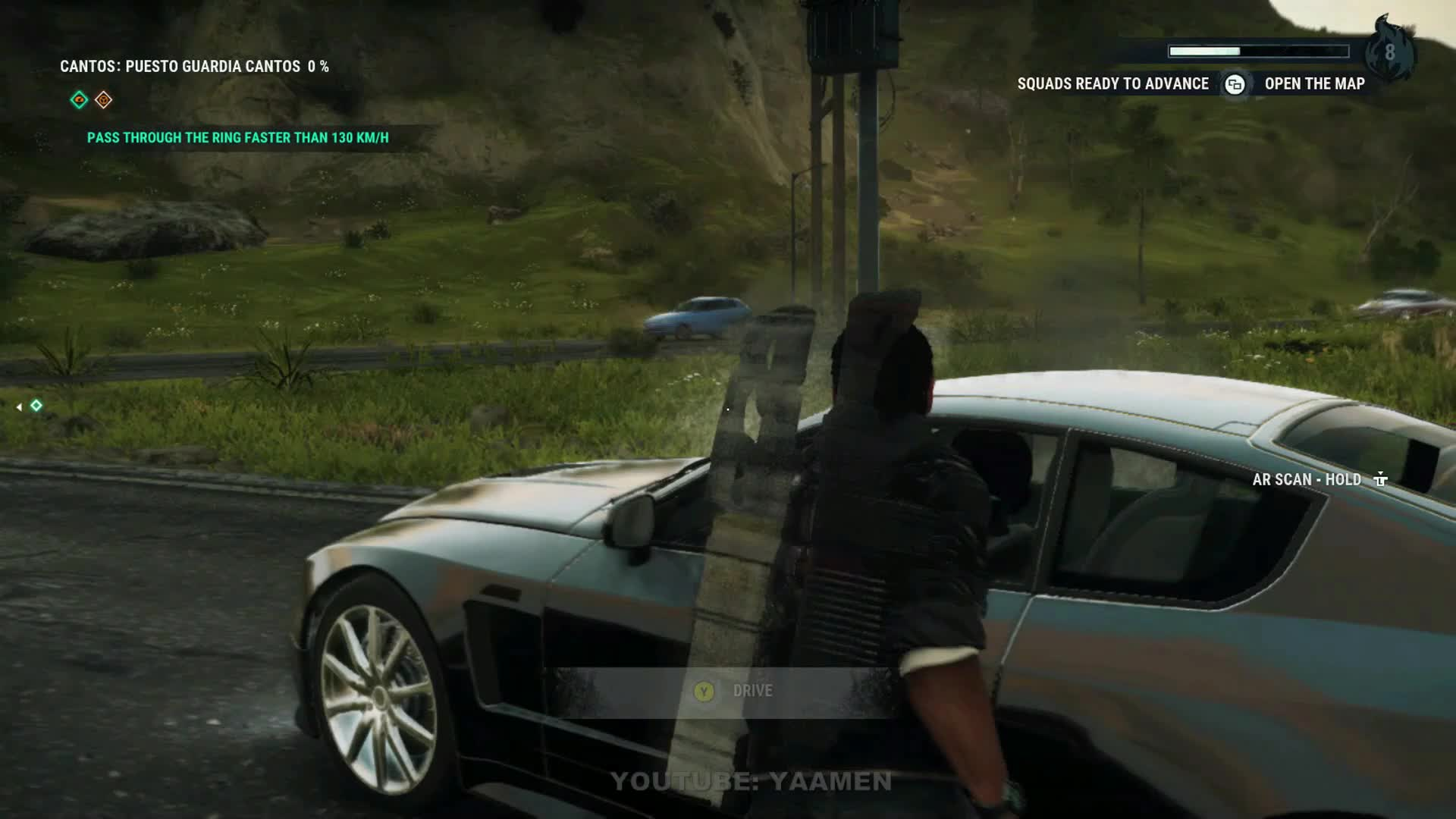 BUG, JUST CAUSE 4, MOTORCYCLE, PHYSICS, SPIN, SQUARE ENIX, JUST CAUSE 4 - TAKING A BIKE FOR A SPIN GIFs
