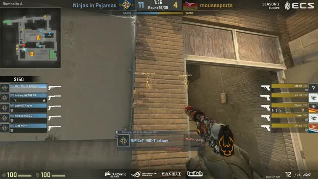 ECS Season 2 Europe - NiP vs Mousesports (LIVE)