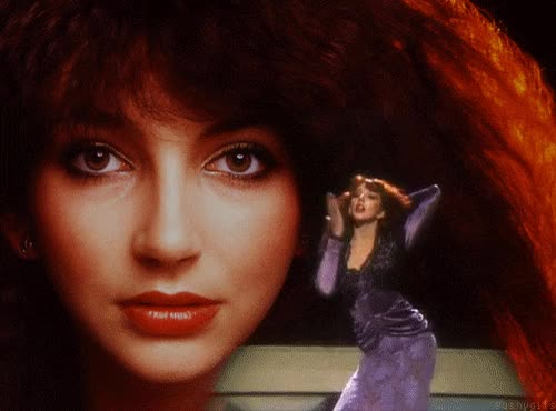 Watch This Week's Must-See Art Events: Give Thanks for Kate Bush GIF on Gfycat. Discover more related GIFs on Gfycat