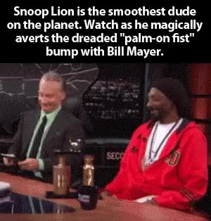 Watch and share Funny Snoop Lion Bill Mayer GIFs on Gfycat