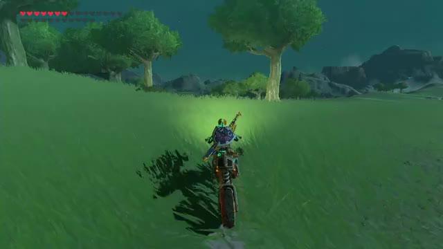Watch and share Zelda Botw-motorcycle1 GIFs on Gfycat