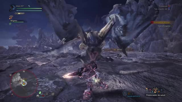 Watch cuando te pasa rosando!!! GIF by Gamer DVR (@xboxdvr) on Gfycat. Discover more Keops 007, MONSTERHUNTERWORLD, xbox, xbox dvr, xbox one GIFs on Gfycat