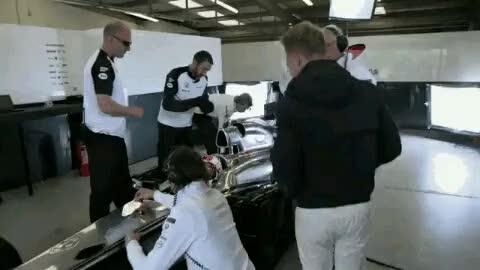 Watch Team Mclaren GIF on Gfycat. Discover more McLaren Honda, f1, fernando alonso, jenson button, kevin magnussun, stoffel vandoorne GIFs on Gfycat