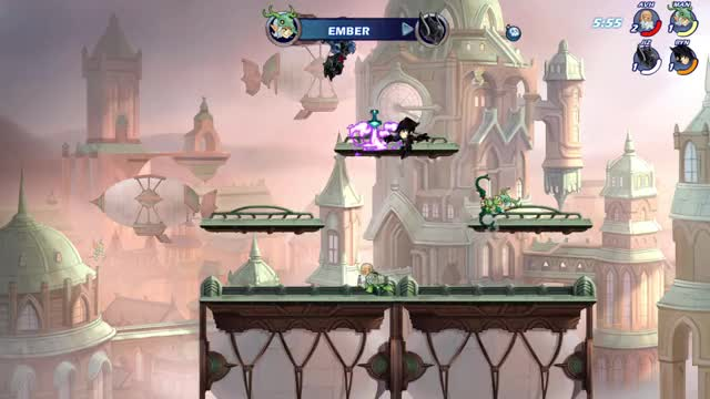 Watch and share Brawlhalla GIFs by Manon on Gfycat