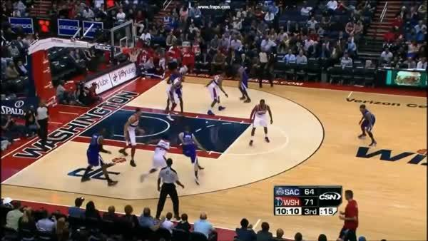 nbagifs, Javale McGee sick block GIFs