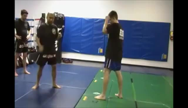 Watch Muay Thai - Diagonal Knee Setup GIF on Gfycat. Discover more related GIFs on Gfycat