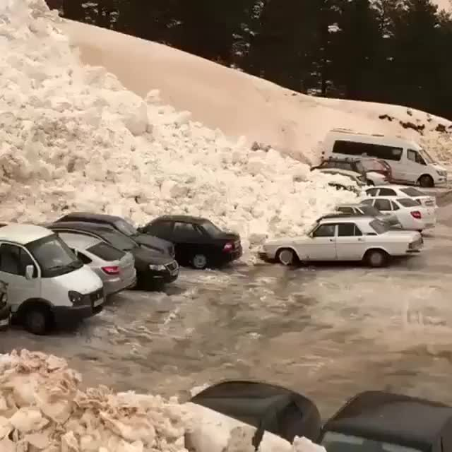Watch and share Slow Moving Avalanche  GIFs by Jackson3OH3 on Gfycat