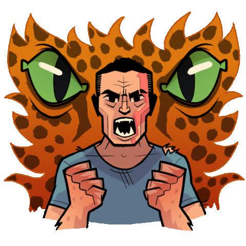 angry, dark horse, dark horse comics, david harbour, hellboy, hellboy 2019, hellboy movie, mad, milla jovovich, rage, superhero, superheroes, Hellboy Rage GIFs