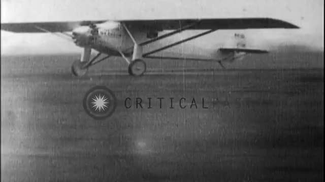 Watch Charles Lindbergh - Trans-Atlantic Flight GIF on Gfycat. Discover more 1930s, aviation, lindbergh, trans-atlantic GIFs on Gfycat