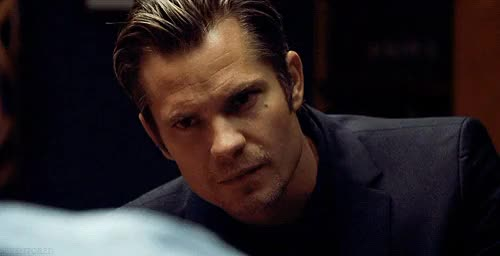 Watch and share Timothy Olyphant GIFs on Gfycat