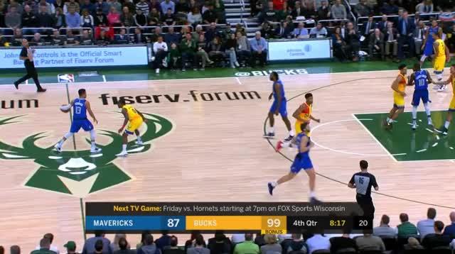 Watch Brodgon zmylił kozłującego przy wysokim screenie GIF by @prejuce on Gfycat. Discover more Dallas Mavericks, Milwaukee Bucks, basketball GIFs on Gfycat