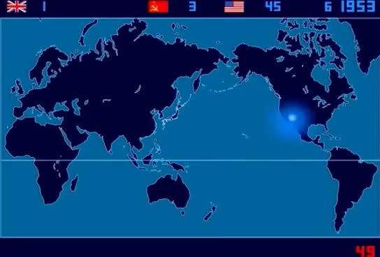 Watch and share A Time-Lapse Map Of Every Nuclear Explosion Since 1945 - By  Isao Hashimoto GIFs on Gfycat