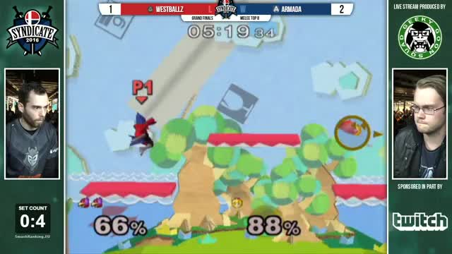 Watch Syndicate - G2 | Westballz (Falco, Cpt. Falcon) Vs. A | Armada (Peach) - Grand Finals - Melee GIF on Gfycat. Discover more dg, dgfall, smashgifs GIFs on Gfycat