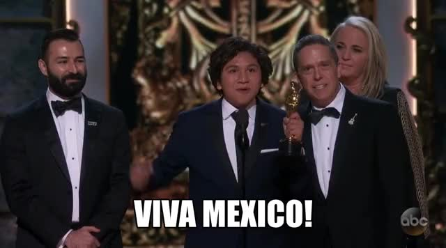Watch and share Oscars 2018 GIFs and Viva Mexico GIFs by Reactions on Gfycat