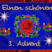 Watch and share 3. Advent Photo Dritter_advents_kranz.gif GIFs on Gfycat
