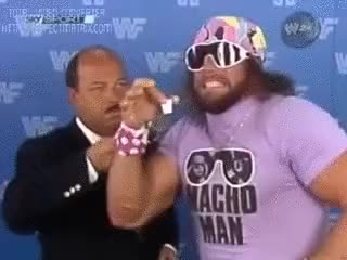 Watch Macho Man Randy Savage GIF on Gfycat. Discover more related GIFs on Gfycat