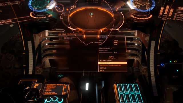 Tried to hitch a ride on a Krait to orbit, it retaliated